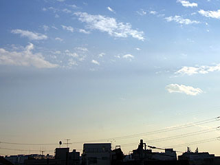 最近天気いいよね。