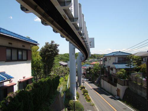 湘南モノレールの橋脚もとても素敵だけど