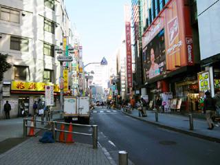 街から正月っぽさが消えつつある1月7日に撮影
