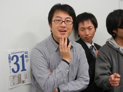 次の展開をペラペラと話はじめる未来からきたライター西村さん