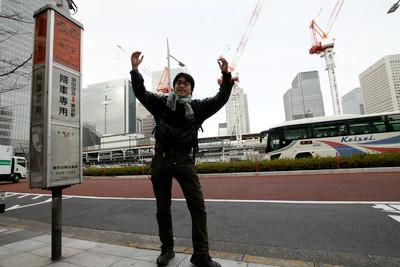それでは、東京駅八重洲口からスタート