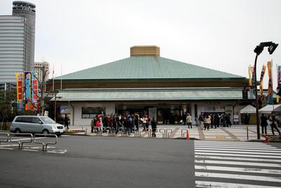 スモウスタジアムこと両国国技館