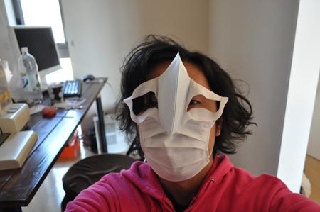 ほら、仮面だこれ。