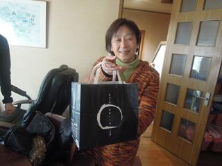 帰りにはおすすめの和菓子まで! 実家というか、正月に親戚のおうちに来たようだ