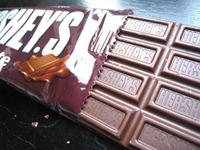 ハーシーの板チョコ
