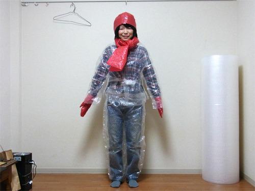 プチプチ冬ファッション2012が完成