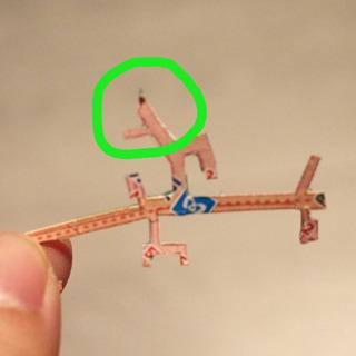 たとえば、赤坂駅のこの三角にとがった部分は何かというと、