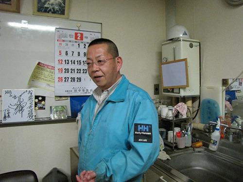 出迎えてくださったのは館長の西川さん