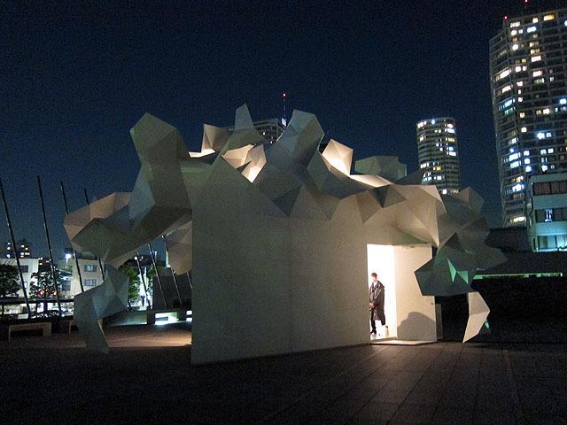 ここがテクノ手芸部の展示のあるブルームバーグ・パヴィリオン