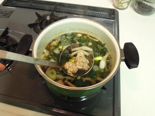 本当に適当な鍋に入れてみた
