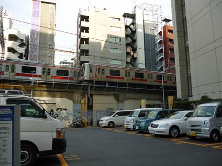 渋谷の屋外で東横線が見られなくなるとは