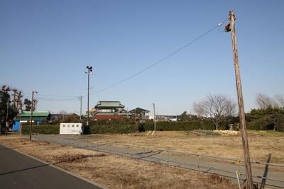 こちらは綾瀬市に程近い、藤沢市北部の木柱