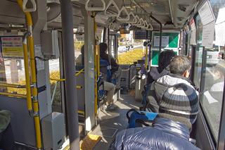 1日数本しかないバスに乗って