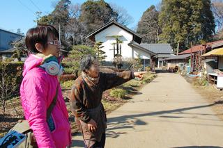 三芳町でお話をうかがったおばあさま。聞いて「おお!」と思ったことが。