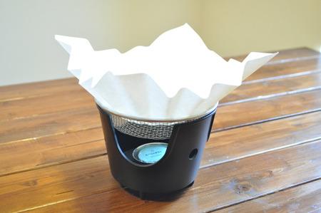我が家に紙鍋が。