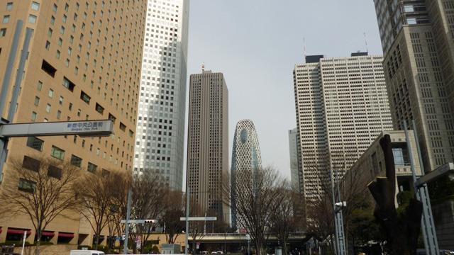 こんな高層ビル街と同じ区内の話です