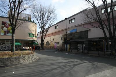 小田急線の梅ヶ丘駅からスタート