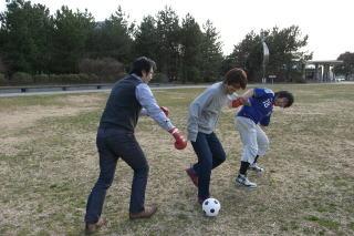 しかし体力は限界。安藤さんに三度ボールを奪われる
