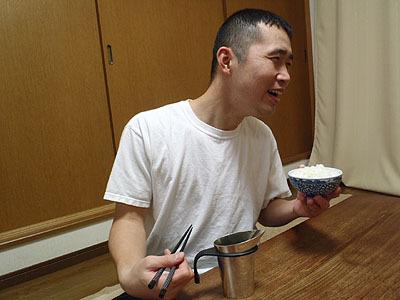 ダーッ!こりゃ米の飯じゃない。ひたすら酒だー!