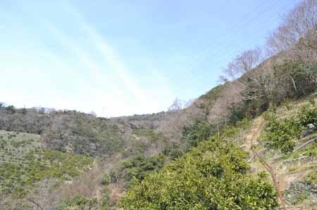 道は無いけど頂上に上がってそこを歩いていけば…って、それは繋がっていると言えるのか。