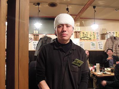 フナバシ屋店長の小林さん
