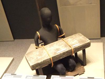 明治大学博物館の刑事部門にこんなのがいっぱいあるよ