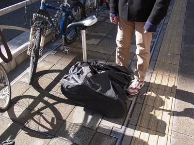 必要不可欠な折りたたみ自転車
