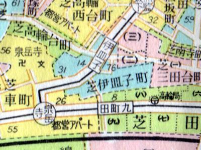 泉岳寺の隣町だ