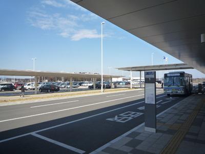 茨城空港、着。ひろびろ。
