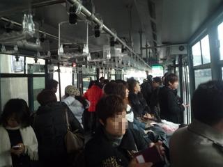 エアポートバスで飛行機へ。