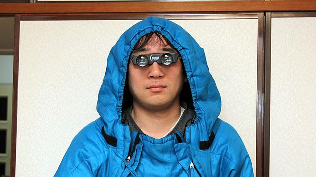 眼鏡型のオペラグラス。$4.30なので今だと350円くらい。ちょっと攻殻機動隊のバトーさんみたい。