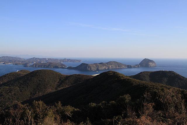 観測所からは周囲の海がよく見渡せる。
