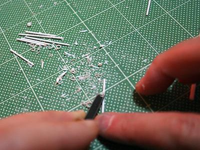 かまぼこ状にするために削る。なんだか徒労に近いものを感じるが、気のせいだろう。必要な作業だ!