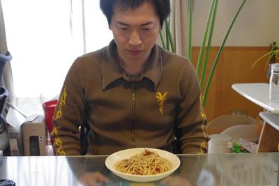 僕自身も、目の前のスパゲチを受け入れることができない。