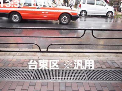 台東区でよくみられるコレは、なにをあらわしているか不明なうえ、千葉でも目撃情報がある。葛飾区とはうってかわっての主張ゼロ感。