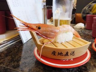 回転寿司のクオリティが高く、寿司店に行く必要がない