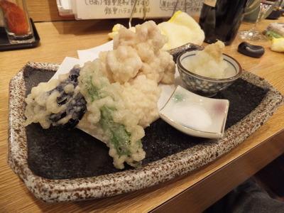 タチの天ぷら