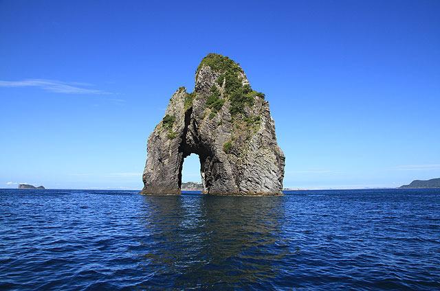 すごい岩。