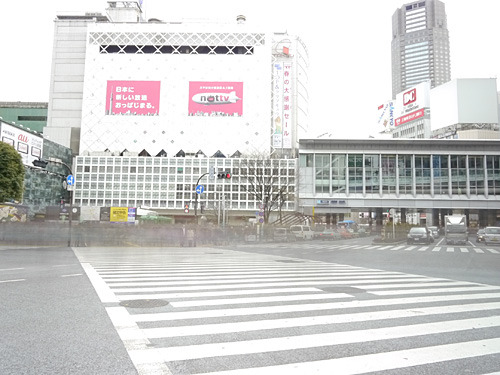 渋谷、無人。