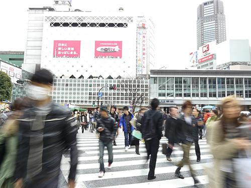 まあいつもの渋谷の風景ですな。