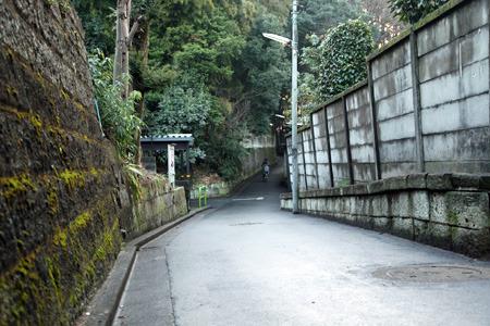 窪んだ道を見るとすべて堀跡だと思えてきた