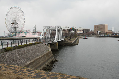 横浜港に来たことある方は知っているよね、この道