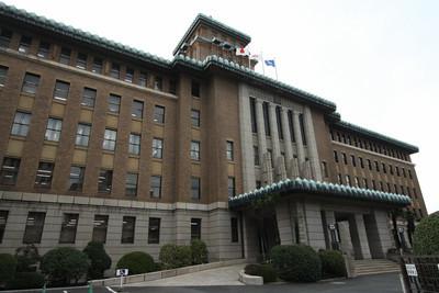 「キング」こと神奈川県庁(昭和3年建造)