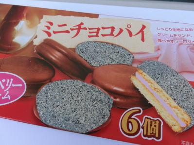 ミニチョコパイ6個入(ただし半分は石)