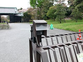 立ち入り禁止ゲートには呼び鈴がついてた。日本一怖いピンポンダッシュスポットである。