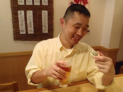 うまいぞ!ビールに合う。日本酒とかでもいけるな。