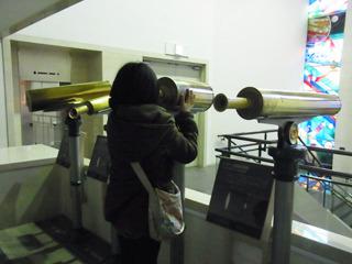 3階が天文コーナー。