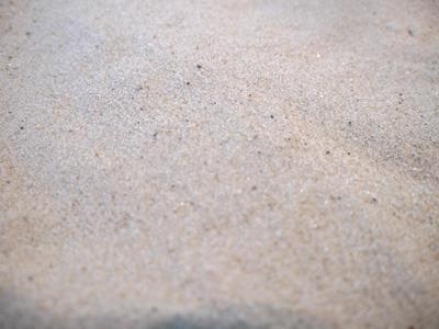 南の島から取ってきたという砂