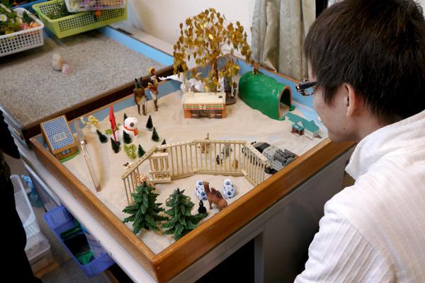 石川さんの箱庭もちょっと不思議な雰囲気なので、どんな結果が出るのか期待です