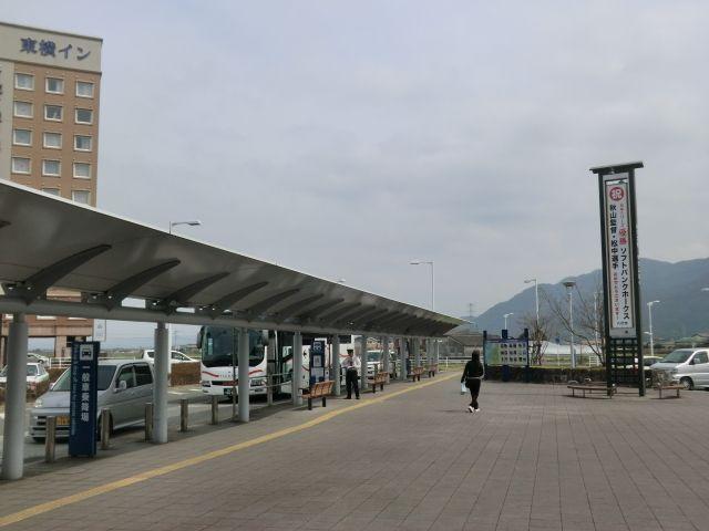 本当に宮崎に行くバスが待っていた。あと東横イン。